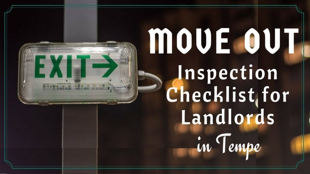 Move Out Inspection Checklist for Landlords